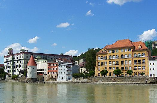 Rundfahrt am Inn in Passau